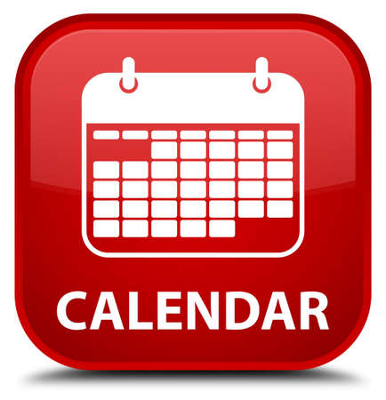 schedule appointment: Calendar red square button