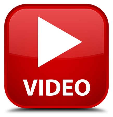 square button: Video red square button
