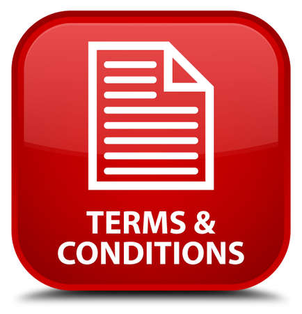 terms: Terms and conditions (page icon) red square button