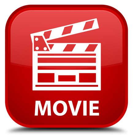 directors cut: Movie (cinema clip icon) red square button