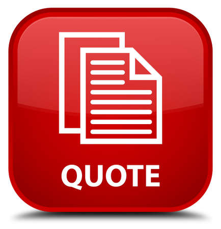 icon red: Quote (document pages icon) red square button