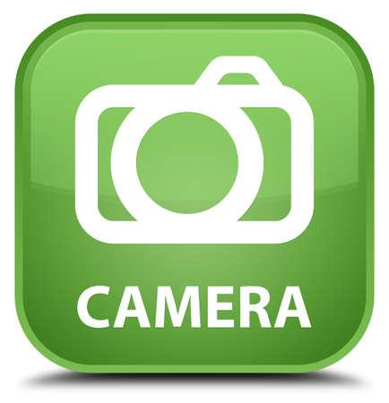 digital slr: Camera soft green square button