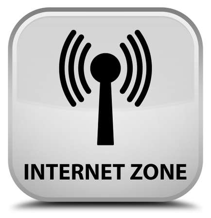 wlan: Internet zone (wlan network) white square button