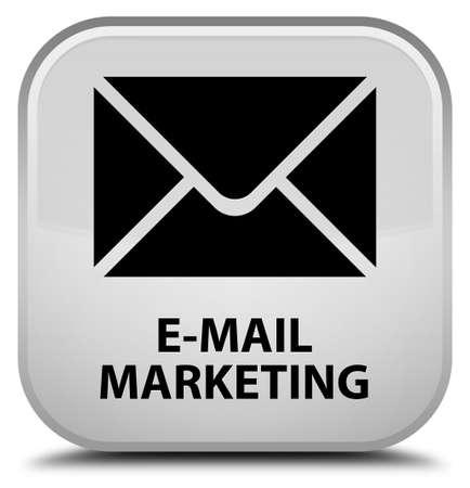 flysheet: E-mail marketing white square button