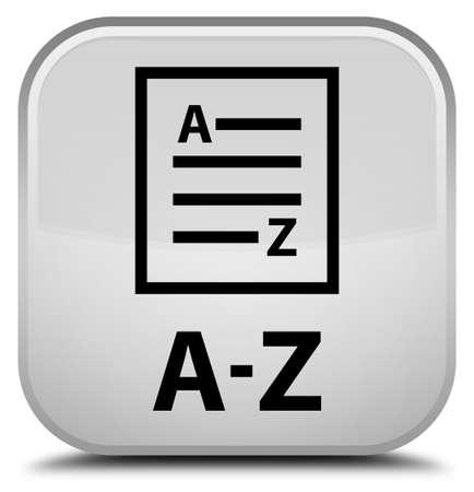 az: A-Z (list page icon) white square button