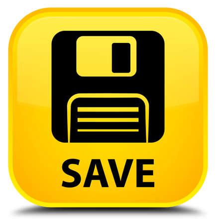floppy disk: Save (floppy disk icon) yellow square button