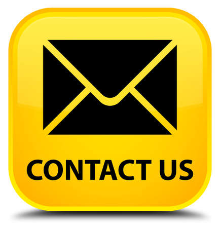 email contact: Contact us (email icon) yellow square button