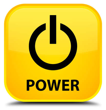 turn yellow: Power yellow square button