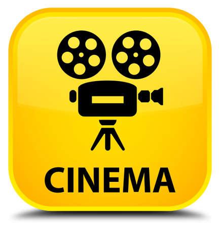 cinematographic: Cinema (video camera icon) yellow square button