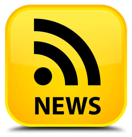 news current events: News (RSS icon) yellow square button