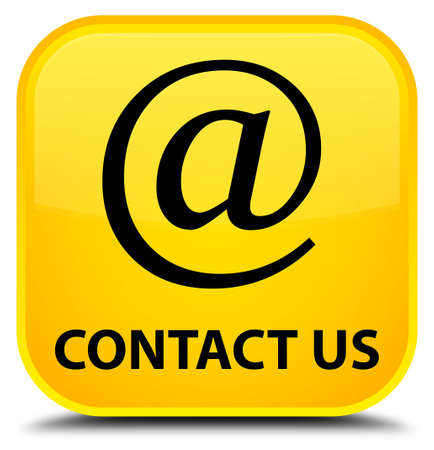 email address: Contact us (email address icon) yellow square button