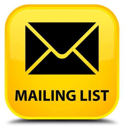 flysheet: Mailing list yellow square button