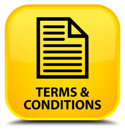 terms: Terms and conditions (page icon) yellow square button