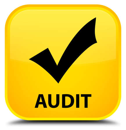 validate: Audit (validate icon) yellow square button