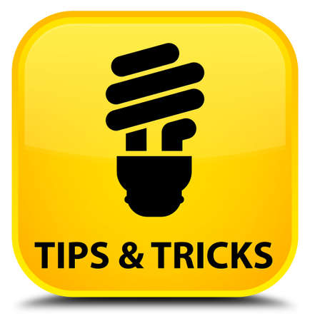incandescence: Tips and tricks (bulb icon) yellow square button