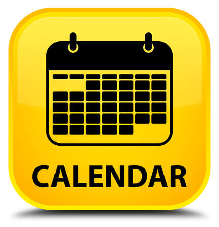 square button: Calendar yellow square button