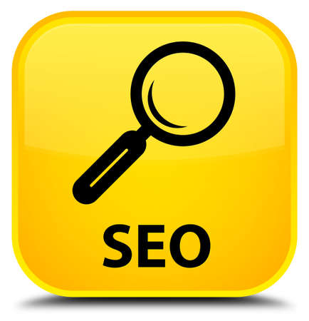 focus on shadow: Seo yellow square button