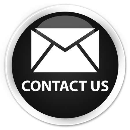 flysheet: Contact us (email icon) black glossy round button