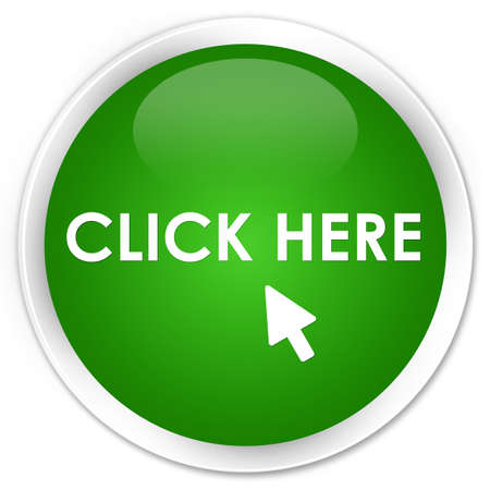 here: Click here green glossy round button