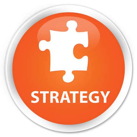 plugin: Strategy (puzzle icon) orange glossy round button