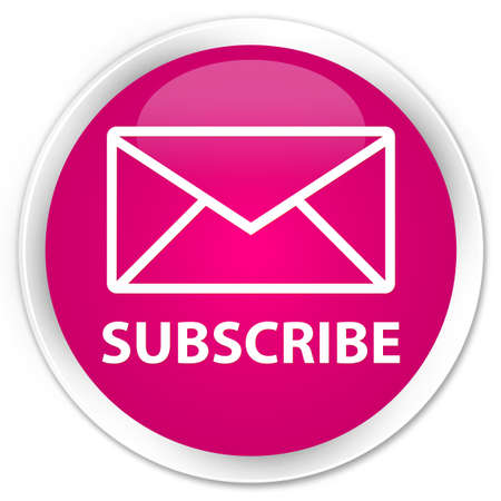 flysheet: Subscribe (email icon) pink glossy round button