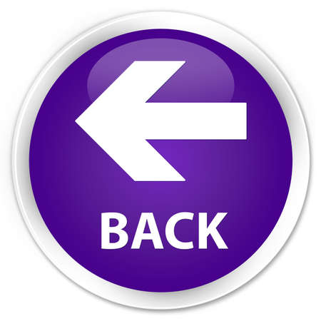 round back: Back purple glossy round button