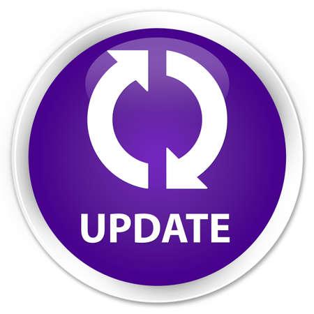 glossy: Update purple glossy round button