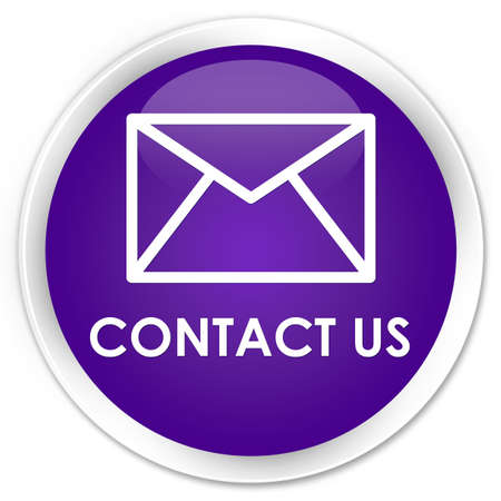 flysheet: Contact us (email icon) purple glossy round button