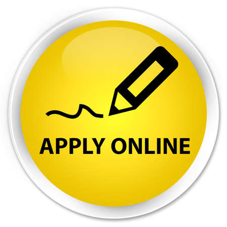 registry: Apply online (edit pen icon) yellow glossy round button