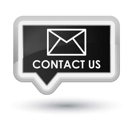 flysheet: Contact us (email icon) black banner button