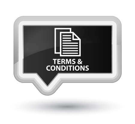 terms: Terms and conditions (pages icon) black banner button