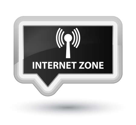 wlan: Internet zone (wlan network) black banner button