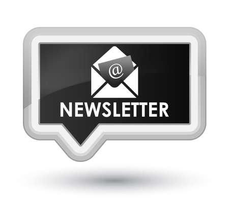 black button: Newsletter black banner button