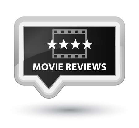 opinions: Movie reviews black banner button