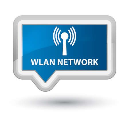 crossover: Wlan network blue banner button