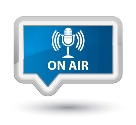 voices: On air (mic icon) blue banner button