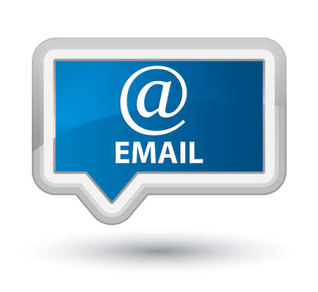 email address: Email (address icon) blue banner button