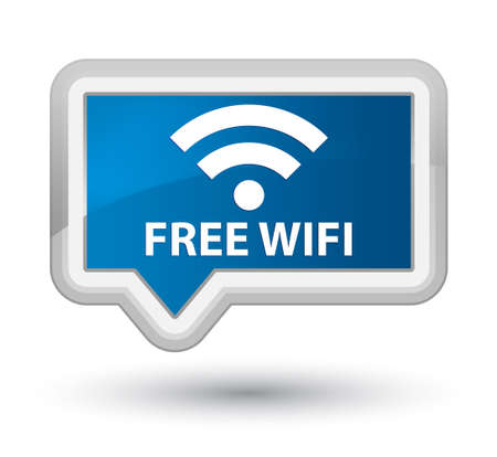crossover: Free wifi blue banner button