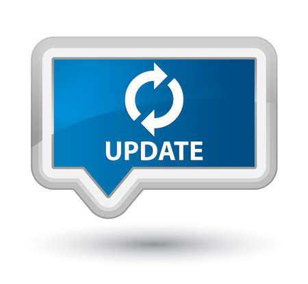update: Update blue banner button