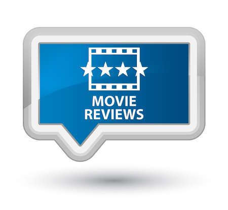 reviews: Movie reviews blue banner button