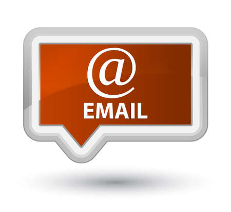 email address: Email (address icon) brown banner button