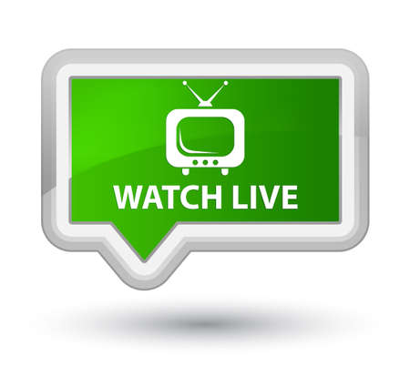 tv station: Watch live green banner button
