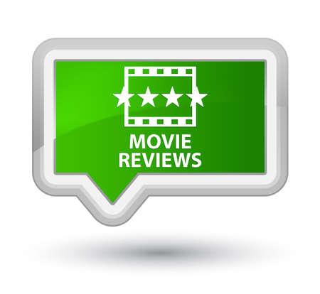 opinions: Movie reviews green banner button