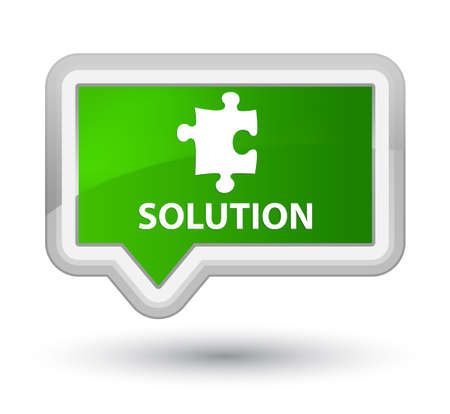 plugin: Solution (puzzle icon) green banner button