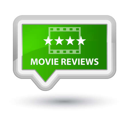 reviews: Movie reviews green banner button