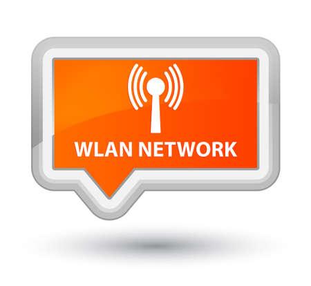 wlan: Wlan network orange banner button