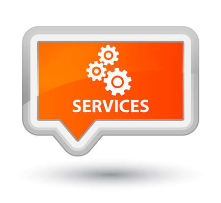preference: Services (gears icon) orange banner button