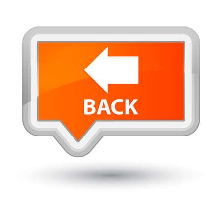 orange banner: Back orange banner button