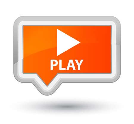 orange banner: Play orange banner button