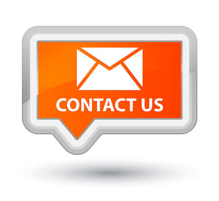 email contact: Contact us (email icon) orange banner button